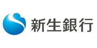新生銀行のロゴ画像です
