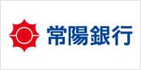 常陽銀行のロゴ画像です